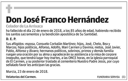 José Franco Hernández
