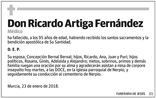Ricardo Artiga Fernández