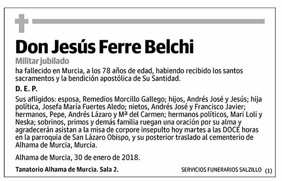 Jesús Ferre Belchi