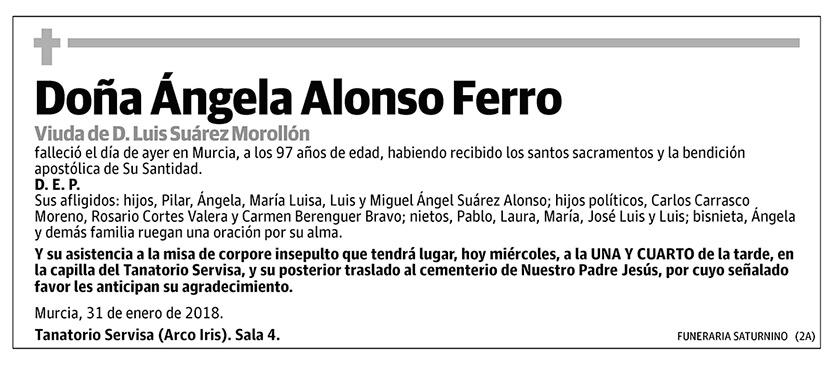 Ángela Alonso Ferro