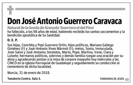 José Antonio Guerrero Caravaca