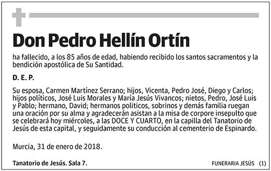 Pedro Hellín Ortín