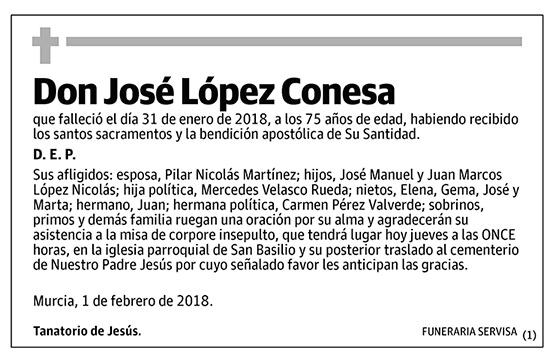 José López Conesa
