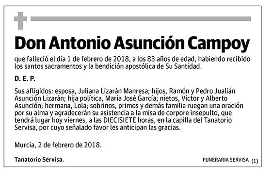 Antonio Asunción Campoy