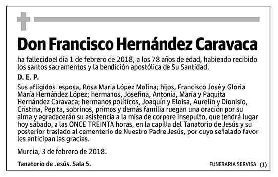 Francisco Hernández Caravaca