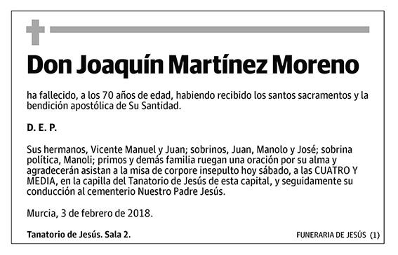 Joaquín Martínez Moreno