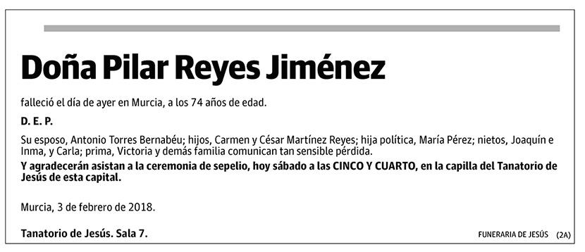 Pilar Reyes Jiménez