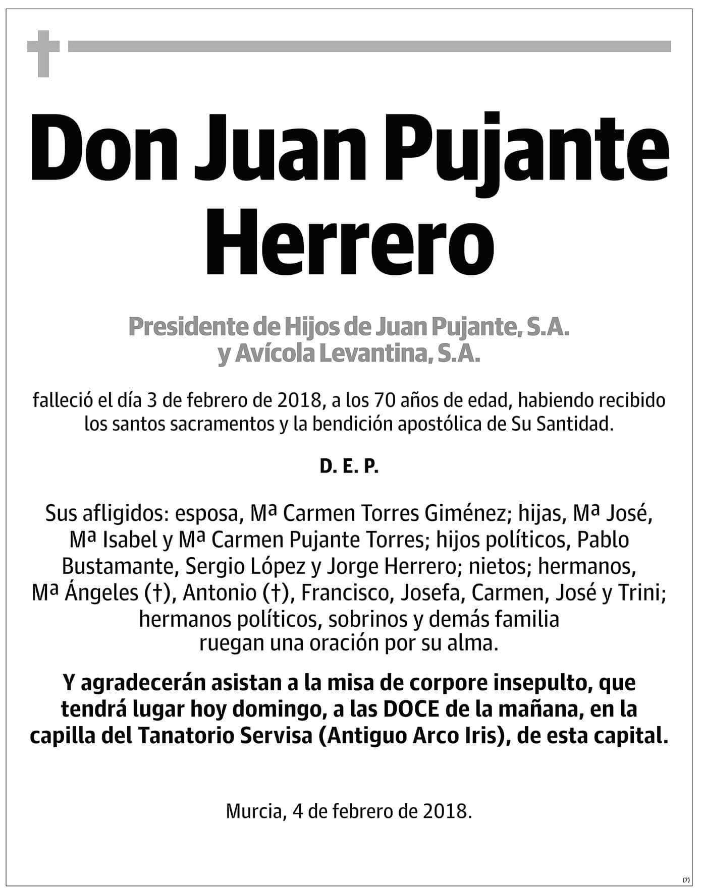Juan Pujante Herrero