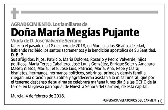 María Megías Pujante