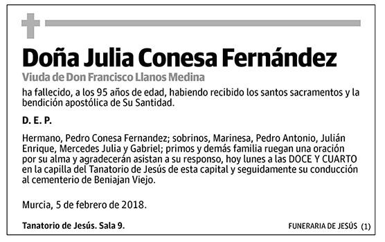 Julia Conesa Fernández