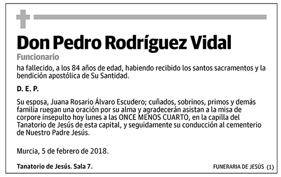 Pedro Rodríguez Videl