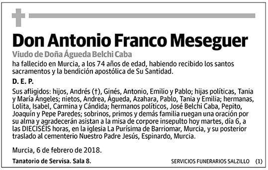 Antonio Franco Meseguer