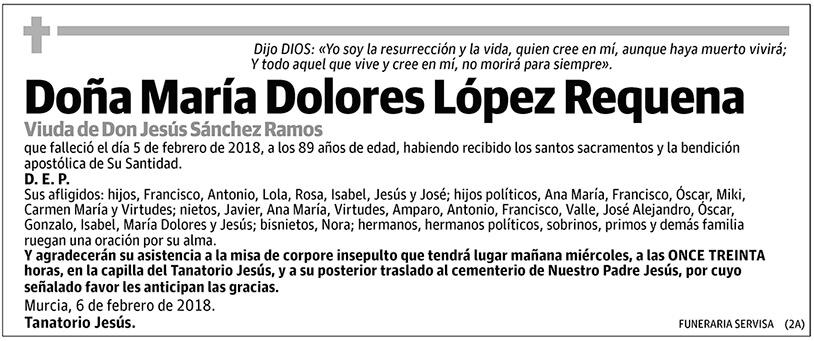 María Dolores López Requena