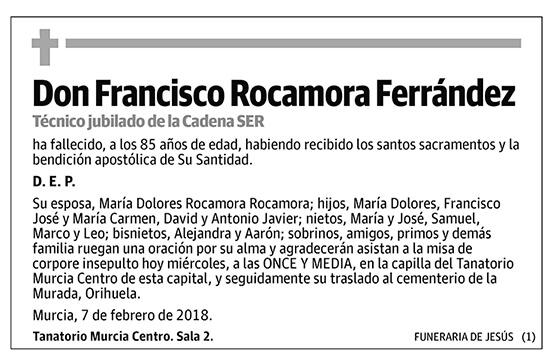 Francisco Rocamora Ferrández