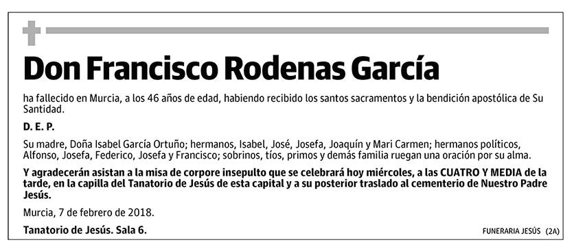 Francisco Rodenas García