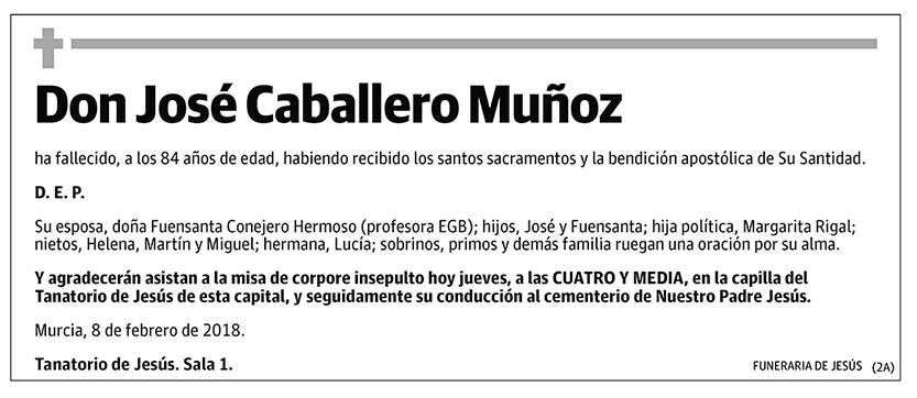 José Caballero Muñoz