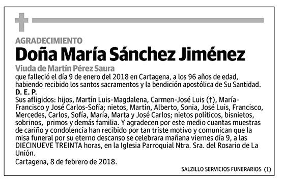 María Sánchez Jiménez