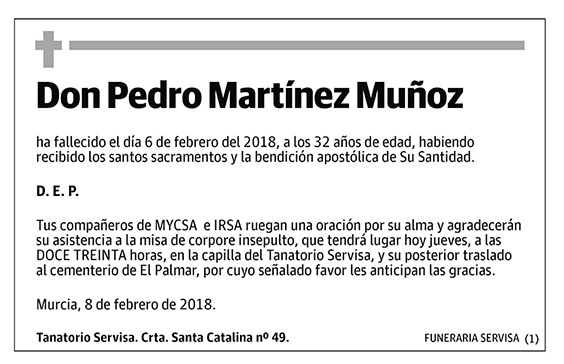 Pedro Martínez Muñoz