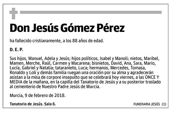 Jesús Gómez Pérez