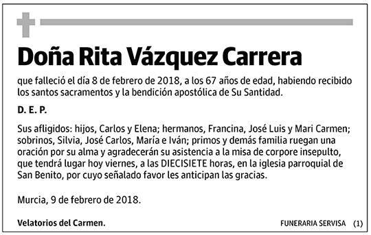 Rita Vázquez Carrera
