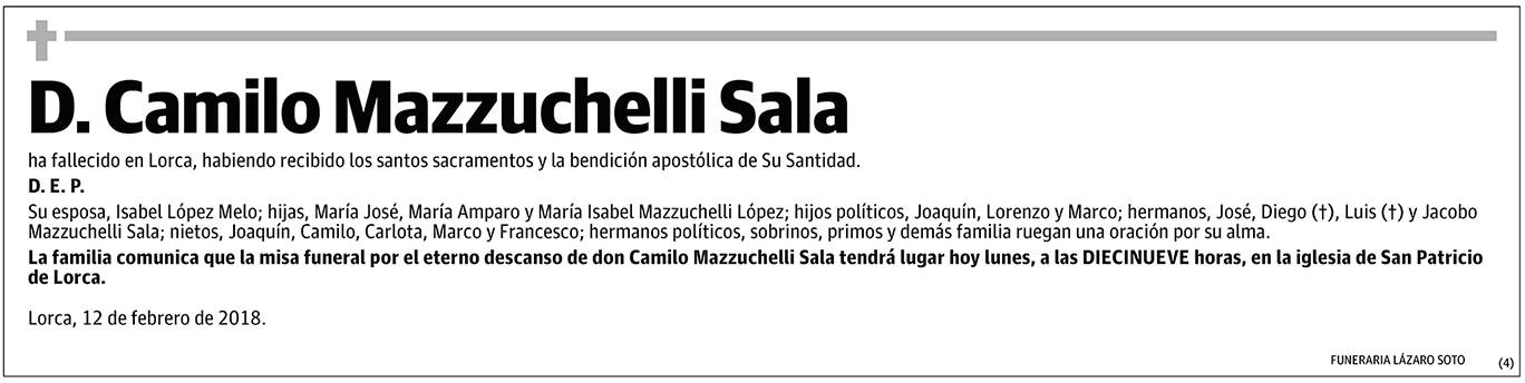 Camilo Mazzuchelli Sala