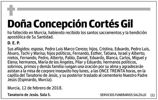 Concepción Cortés Gil