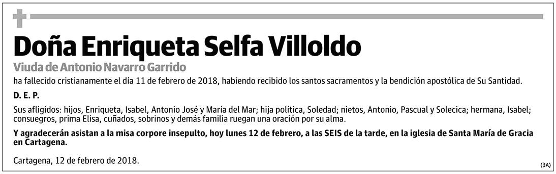 Enriqueta Selfa Villoldo