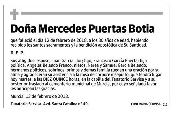 Mercedes Puertas Botia