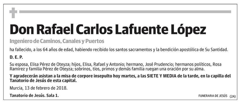 Rafael Carlos Lafuente López