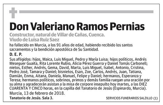 Valeriano Ramos Pernias