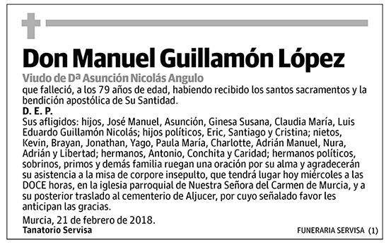 Manuel Guillamón López