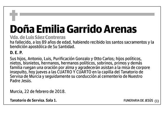 Emilia Garrido Arenas