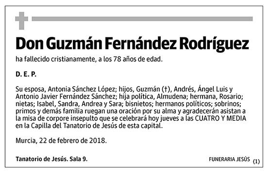 Guzmán Fernández Rodríguez