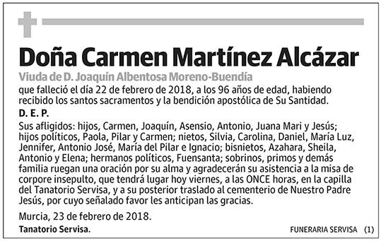 Carmen Martínez Alcázar
