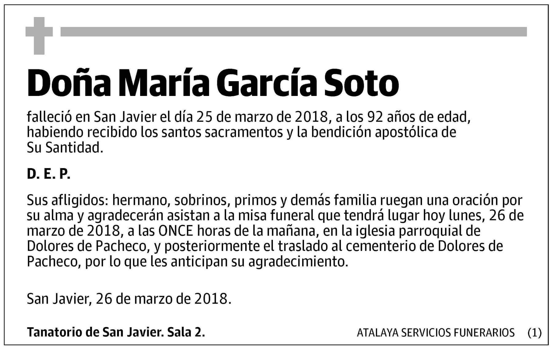 María García Soto