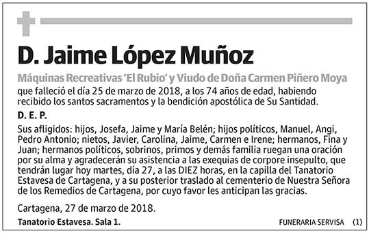 Jaime López Muñoz