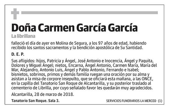 Carmen García García
