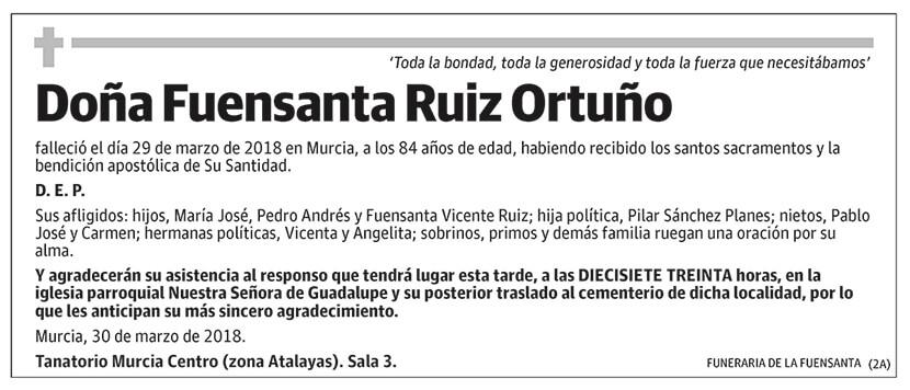Fuensanta Ruiz Ortuño