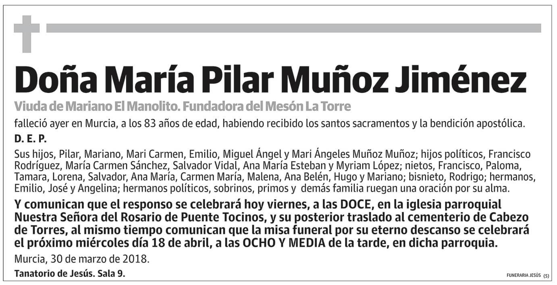 María Pilar Muñoz Jiménez