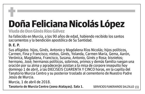 Feliciana Nicolás López