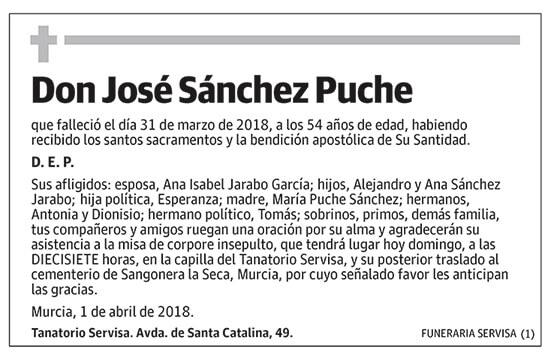 José Sánchez Puche