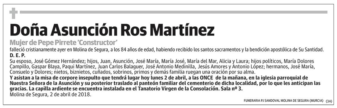 Asunción Ros Martínez