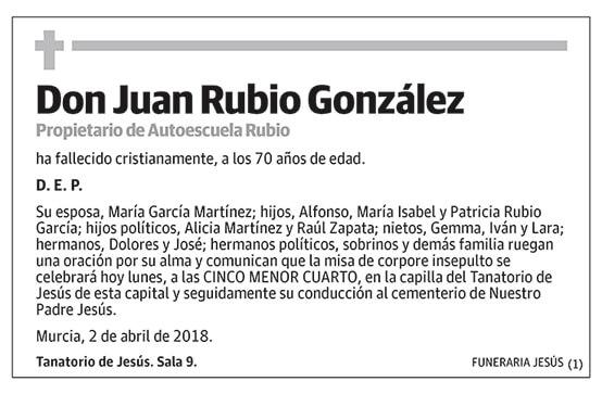 Juan Rubio González