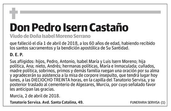 Pedro Isern Castaño