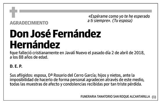 José Fernández Hernández