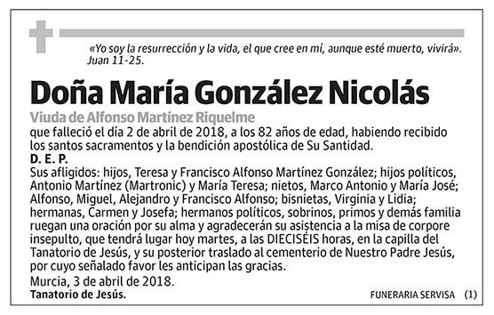 María González Nicolás