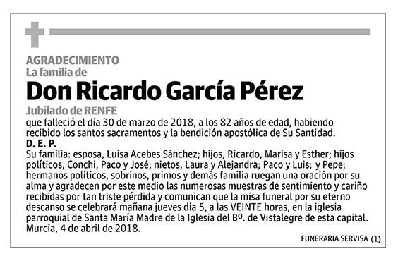 Ricardo García Pérez