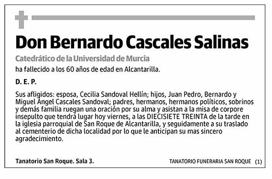 Bernardo Casales Salinas