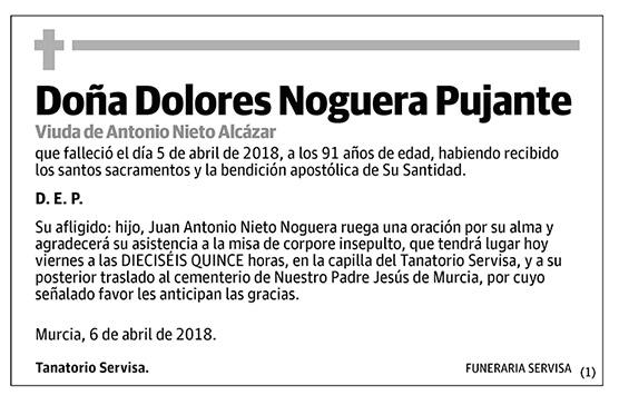 Dolores Noguera Pujante