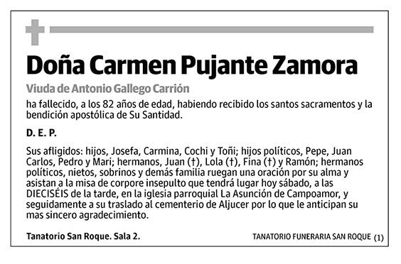 Carmen Pujante Zamora